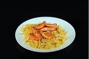 Spaghete cu creveti