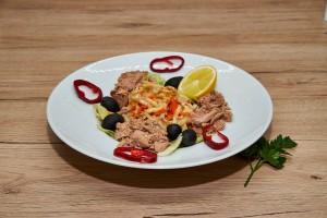 Salata de ton cu cruditati